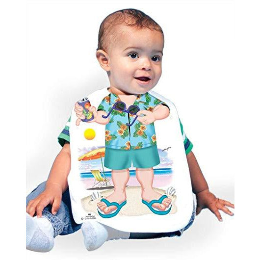 Just Add A Kid  - Bib Beach Comber One-Size - up to 12 Months