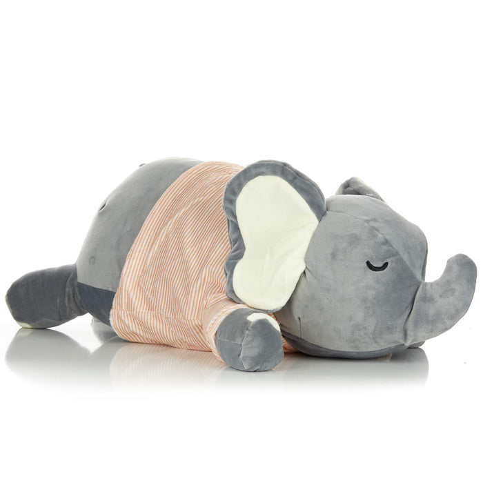 Kids Preferred - Hug Pillow Sleepy Slate Elephant 26""