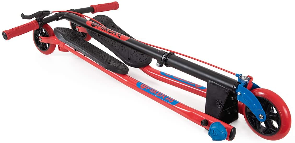Yvolution - Y Fliker Air A3 Kids Drifting & Swing Scooter - Red / Blue