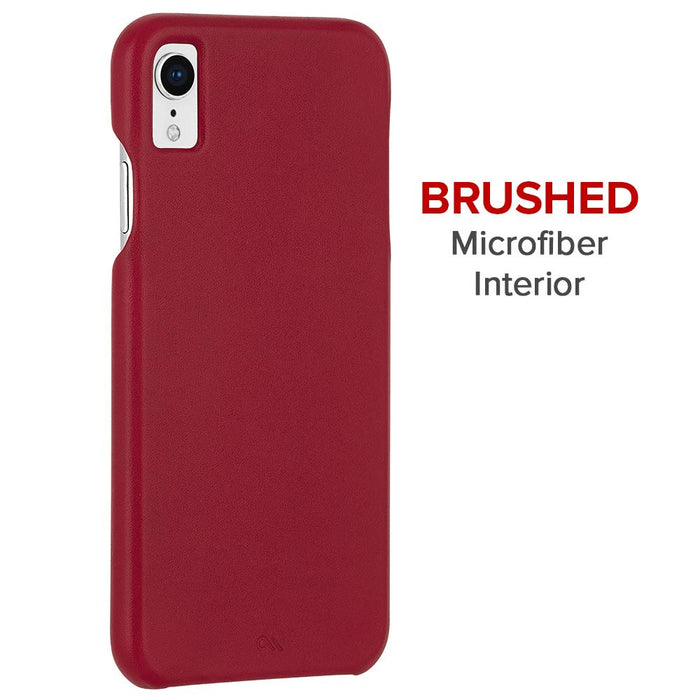 Case-Mate - iPhone XR Barely There - Cardinal