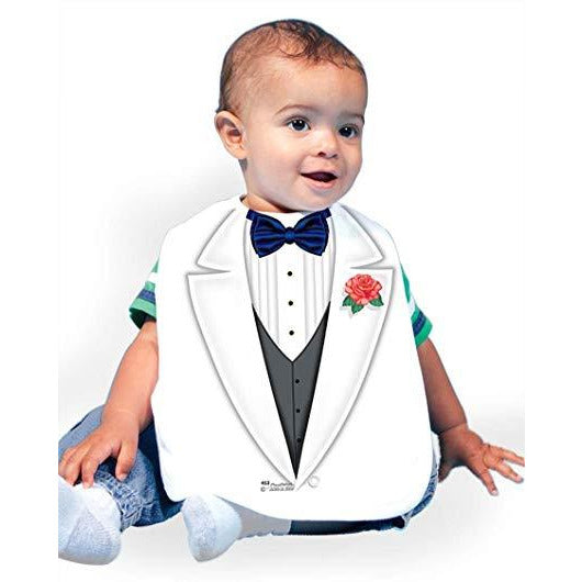 Just Add A Kid   - Bib Tuxedo Boy One-Size