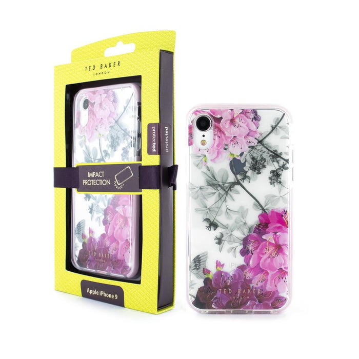 Ted Baker - iPhone XR Anti Shock Case - Babylon Nickel