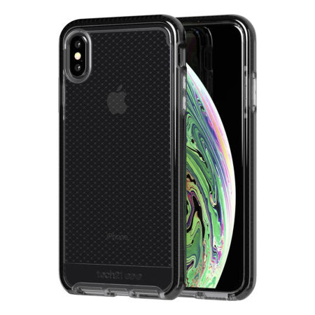 TECH21 - iPhone XS Max Evo Check - Smokey/Black