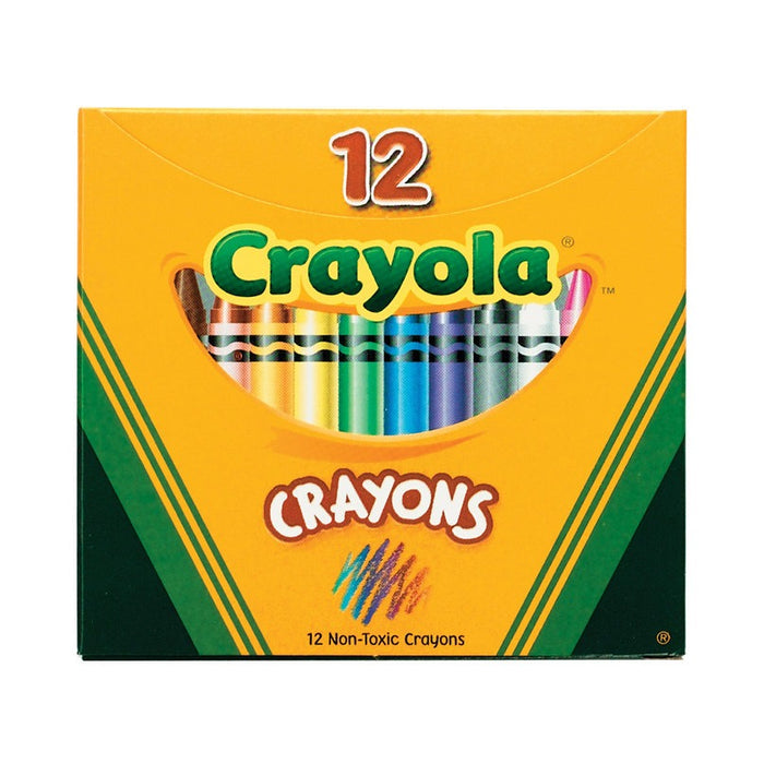 Crayola   - 12 Assorted Crayons