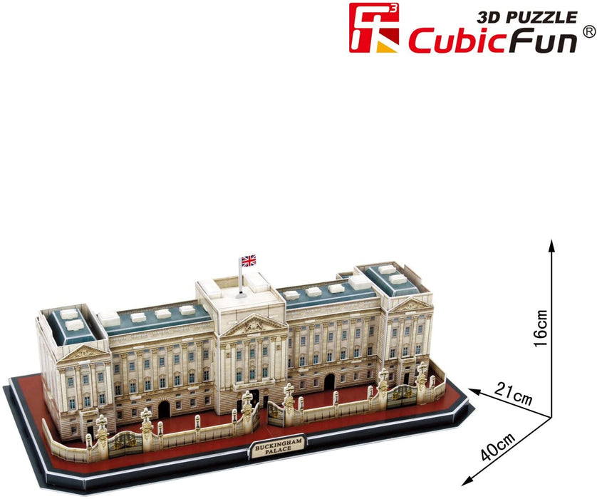 Cubic Fun   - Buckingham Palace London UK 3D Puzzle 72pcs