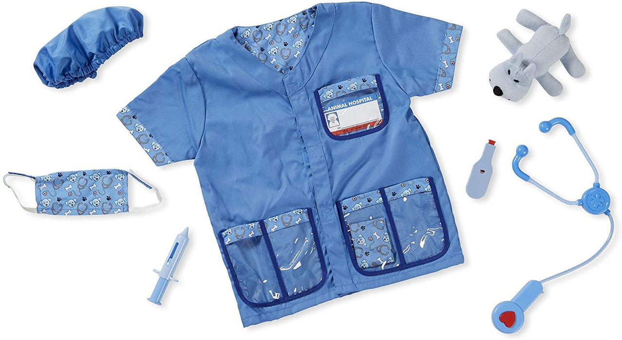 Melissa & Doug   - Veterinarian Role Play Costume Set
