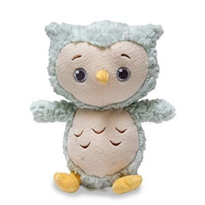 "Cuddle Barn - Musical Plush Twinkles Night time Owl 10"" - Mint"