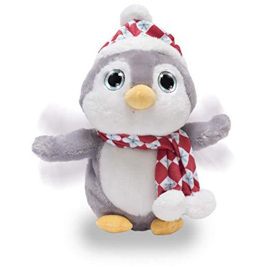 Cuddle Barn - Musical Plush Sparkles The Penguin 11""