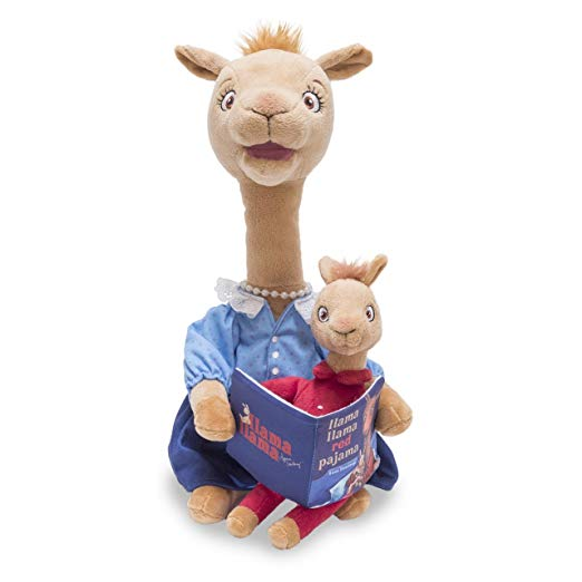 Cuddle Barn - Mama Llama The Animated Storytelling Llama 14""