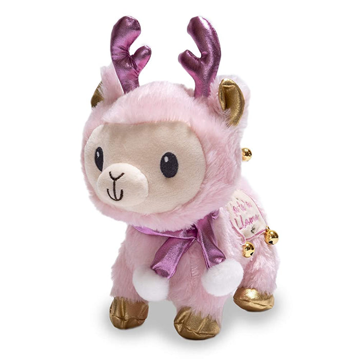 Cuddle Barn   - Musical Plush Fa La La Llama