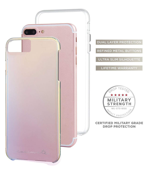 Case-Mate Naked Tough Case For iPhone 7 Plus,  Iridescent
