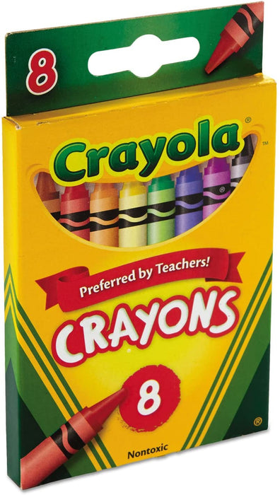 Crayola   - 8 Crayon Assorted