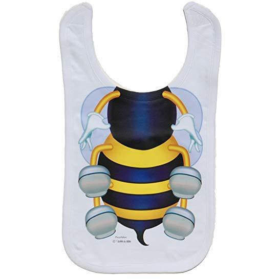 Just Add A Kid - Bib Bee Body One-Size - 0 to 12 Months