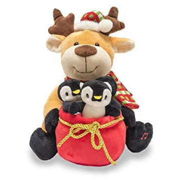 Cuddle Barn - Musical Plush Rudy & The Jingles 12""