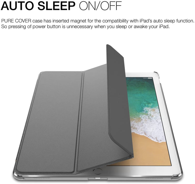 "Patchworks - iPad Pro 11"" PureCover Case with Pencil Pocket - Grey"