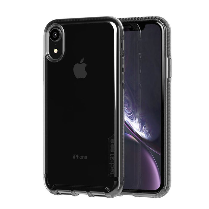 TECH21 - iPhone XR Pure Carbon - Smoke Black