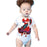 Just Add A Kid - Rompers Flamenco Dancer Red One Piece 12M (2037383921721)