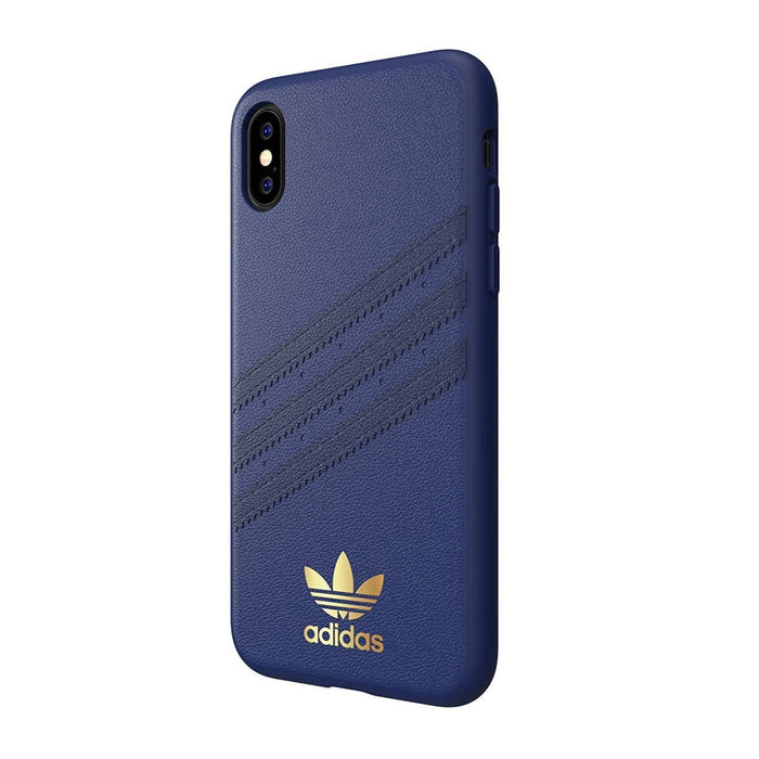 Adidas - iPhone XS Max 3 Stripes Case - Samba Blue