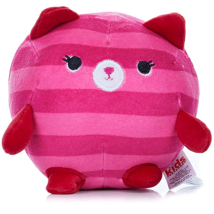 Kids Preferred   - Cuddle Pal Bright Kitty - Small Round Huggables 5""