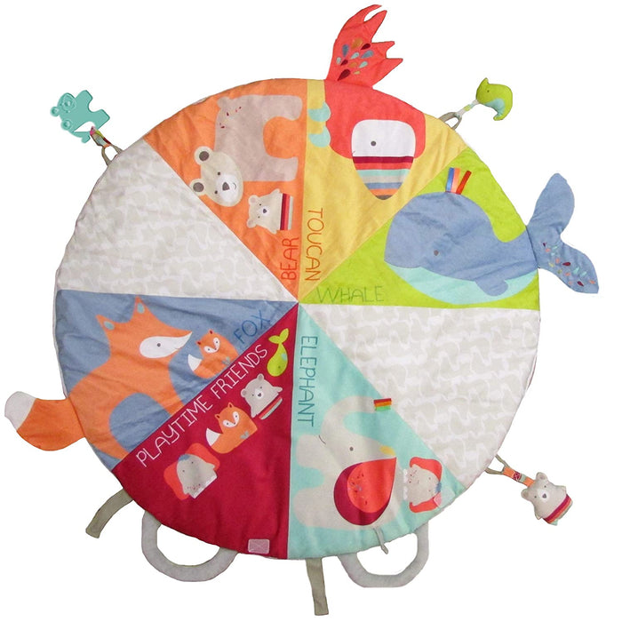 Kids Preferred - Easy On-The-Go Portable & Foldable Playmat for Babies