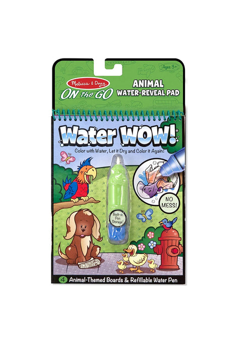 Melissa & Doug   - Water Wow Animals  On The Go Travel Activity
