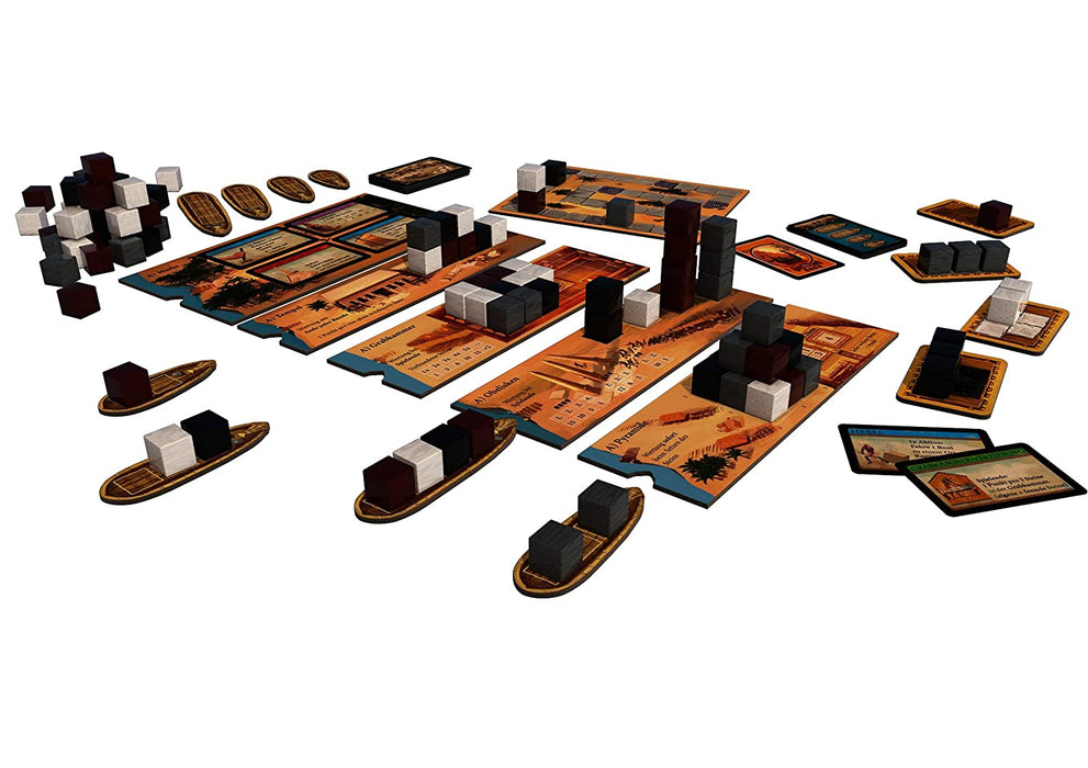 Kosmos   - Imhotep Builder of Egypt Board Game