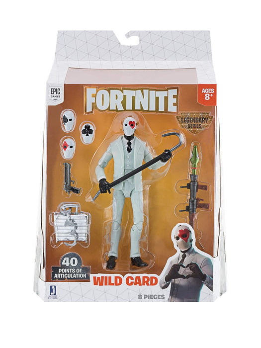 Jazwares - Fortnite 1 Figure Pack Wild Card S1