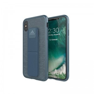 Adidas, iPhone X&XS Grip case, Mystery Blue