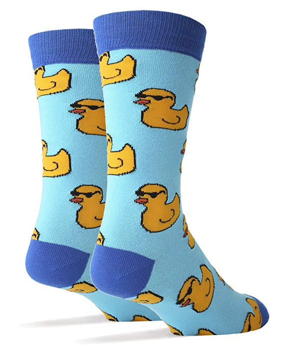 OoohYeah Socks - Mens Crew Duckies