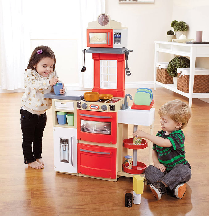 Little Tikes   - Cook 'N Store Kitchen - Red