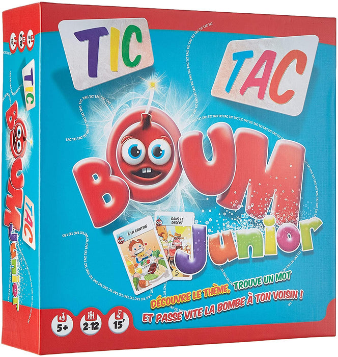 Asmodee   - Tic Tac Boum Junior (French)