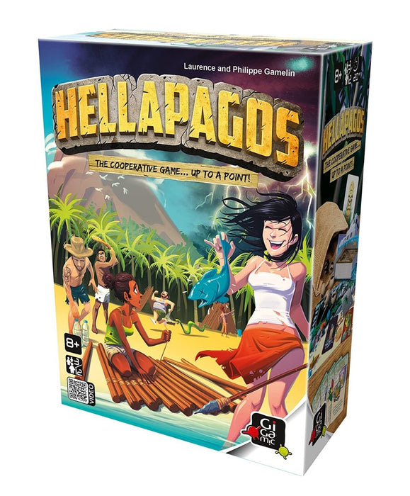 Gigamic   - Hellapagos Board Game