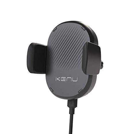 Kenu - Airframe Wireless Fast Charging Vent Mount - Black