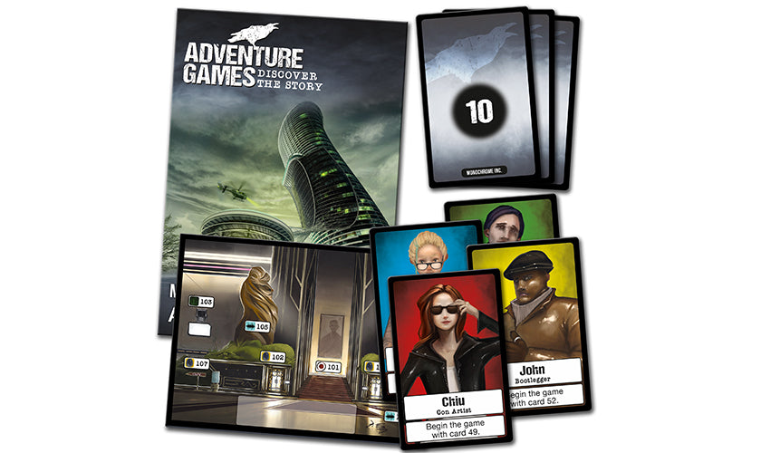 Adventure Games- Monochrome Inc