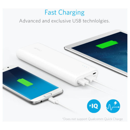 Anker Powercore Power Bank 15600mAh White