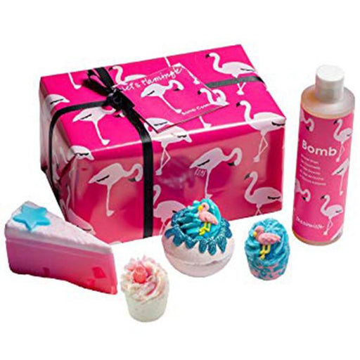Bomb Cosmetics Gift Box -Let S Flamingle
