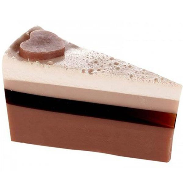 Bomb Cosmetics - Soap Cake Slice Chocolate Heaven