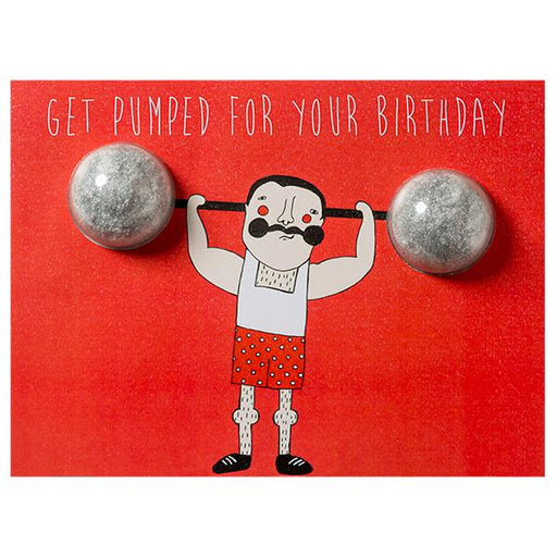 Bomb Cosmetics Blaster Card-Get Pumped For Your Birthday
