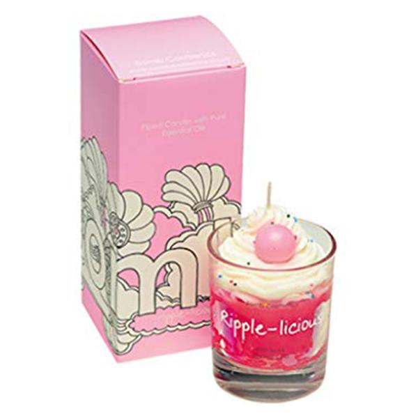 Bomb Cosmetics - Piped Glass Candle Ripple-licious