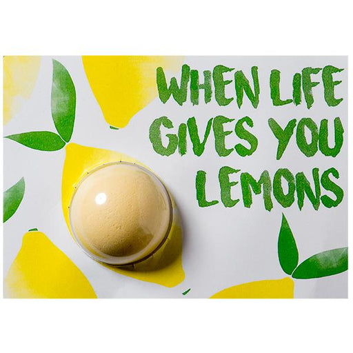 Bomb Cosmetics Card-When Life Gives You Lemon
