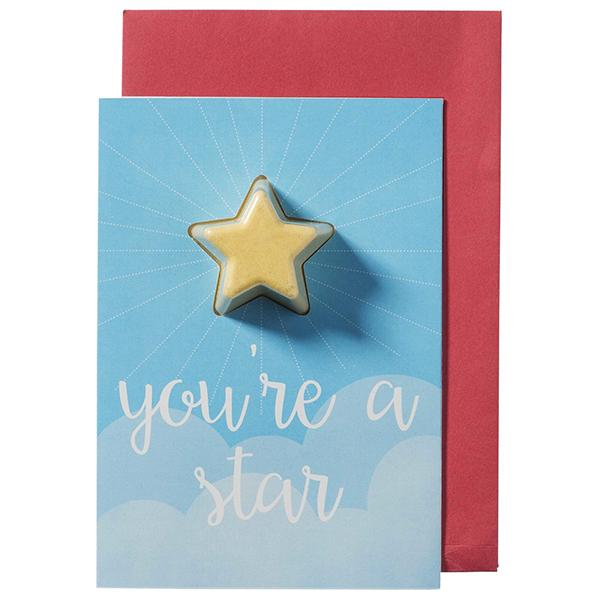 "Bomb Cosmetics   - Blaster Card ""You're a Star"""