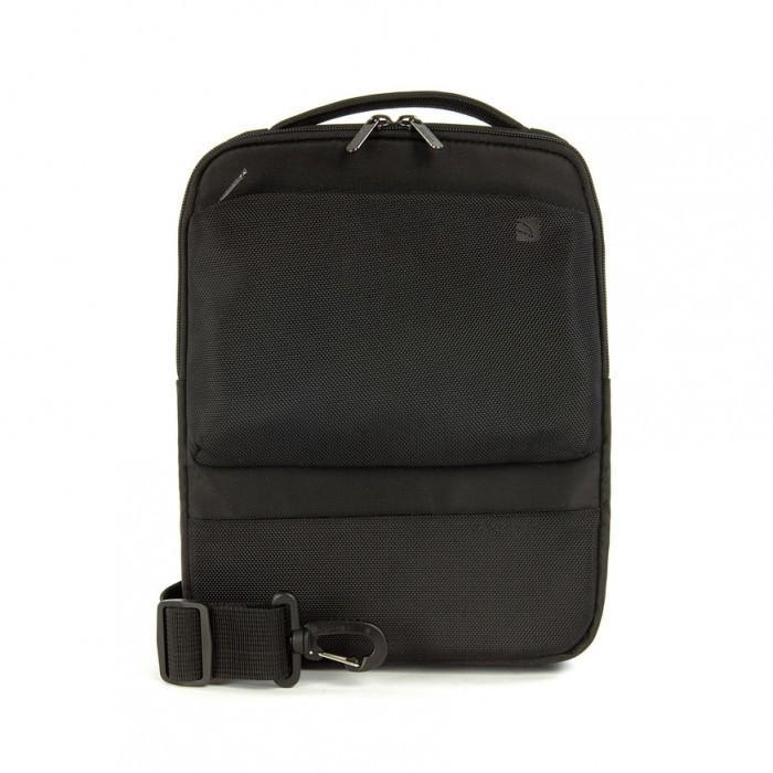 Tucano Dritta Vertical Shoulder bag for iPad and tablet, Black