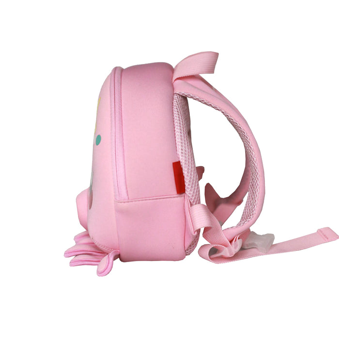 Nohoo - Octopus 3D Water Resistance Kids Backpack - 1 to 4 Years - Pink