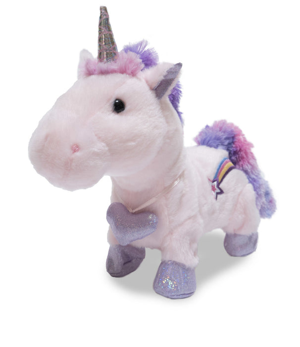 Cuddle Barn - Musical Plush Starry Sparkle Unicorn 8""