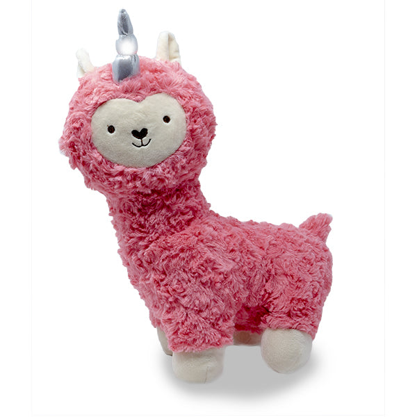 "Cuddle Barn - Musical Plush Lovely Llamacorn 14"" - Coral"