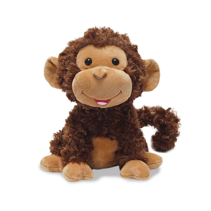 Cuddle Barn - Musical Plush Crackin' Up Coco Monkey 10""