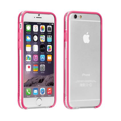 Case-Mate - iPhone 6 Tough Frame - Clear/Pink
