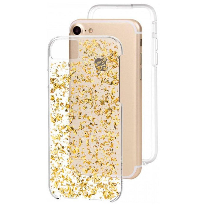 Case-Mate Karat Case For iPhone 7, Gold / Clear