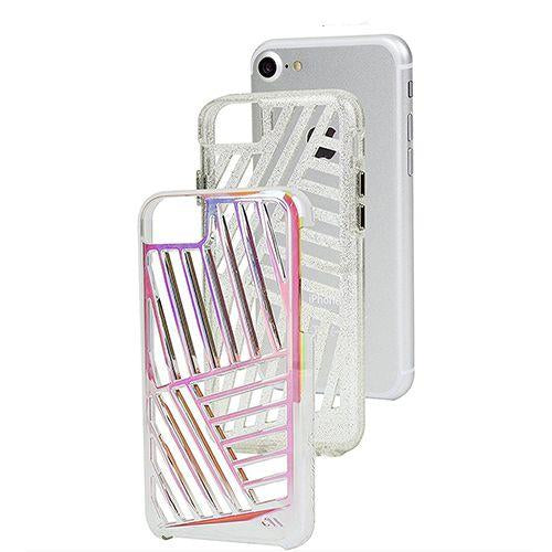 Case-Mate Tough Layers Case for Apple iPhone 7 & 8, Iridescent Cage (2037383397433)