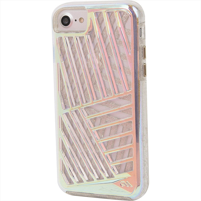 Case-Mate Tough Layers Case for Apple iPhone 7 & 8, Iridescent Cage